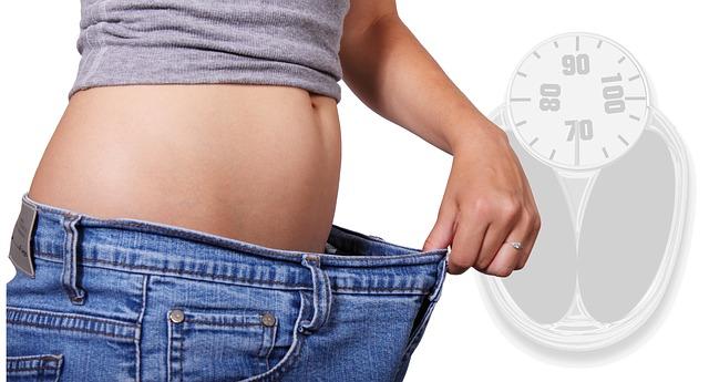 váha, břicho, zhubnutí