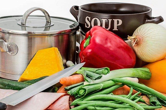 příprava dietní polévky